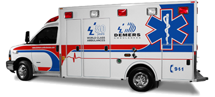 Demers Ambulance Sales, EX Sprinter, LT2, MX 164, MX 170, MXP 150
